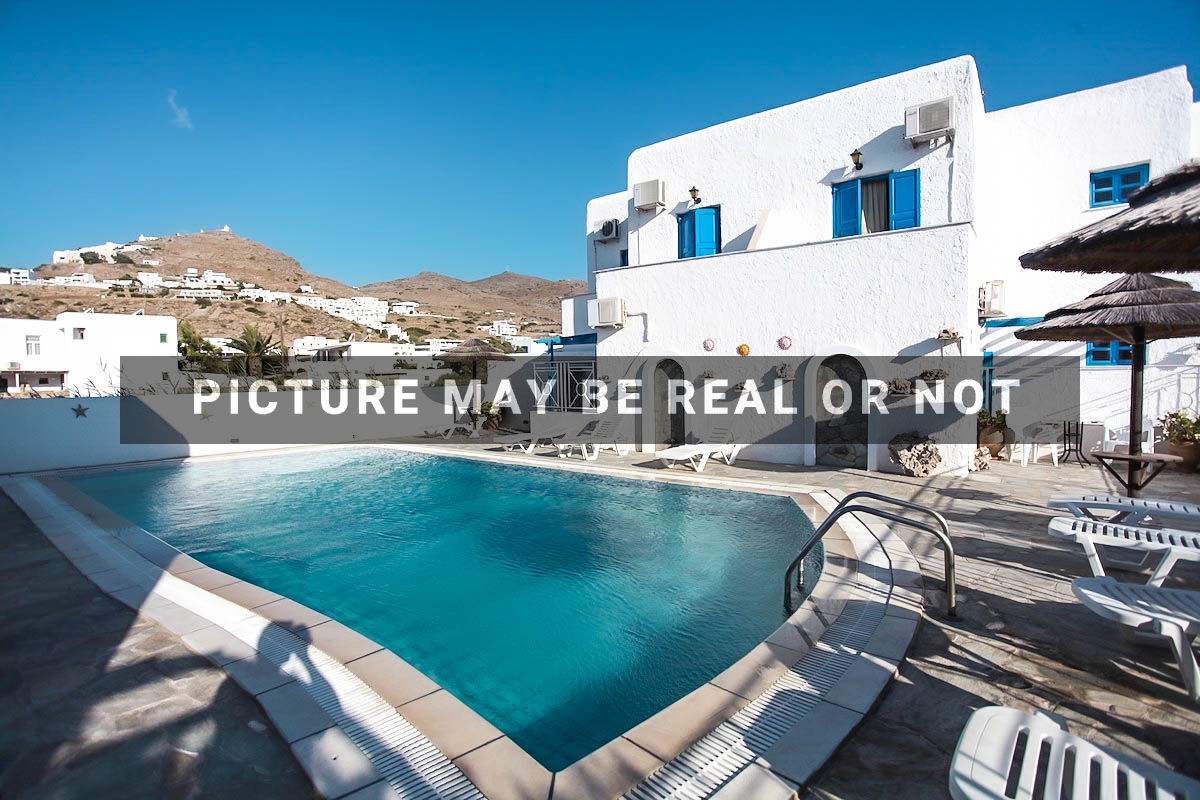 Seafront Hotel in Ios Cyclades Greece with 29 Rooms