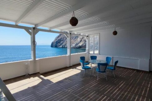 Seafront House for Sale in Santorini, Property Santorini Greece, Sea view House Santorini for Sale. See Properties in Santorini Island 30