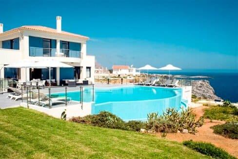 Seafront Villas in Crete near Chania Crete for sale, Waterfront Property Crete Greece, Seafront Houses Crete Greece 2