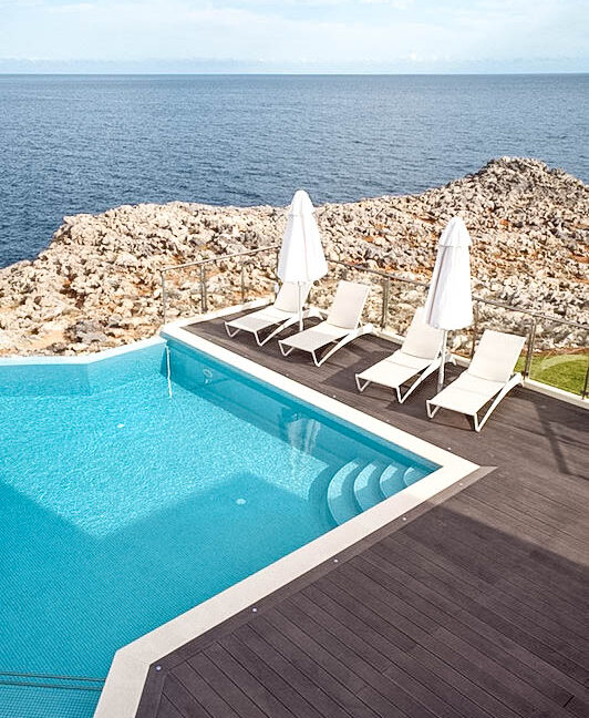 Seafront Villas in Crete near Chania Crete for sale, Waterfront Property Crete Greece, Seafront Houses Crete Greece 24
