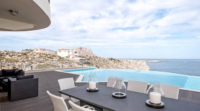Seafront Villas in Crete near Chania Crete for sale, Waterfront Property Crete Greece, Seafront Houses Crete Greece 28