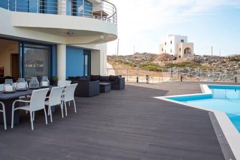 Seafront Villas in Crete near Chania Crete for sale, Waterfront Property Crete Greece, Seafront Houses Crete Greece 30