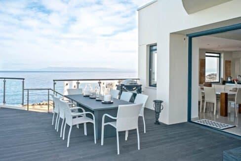 Seafront Villas in Crete near Chania Crete for sale, Waterfront Property Crete Greece, Seafront Houses Crete Greece 35