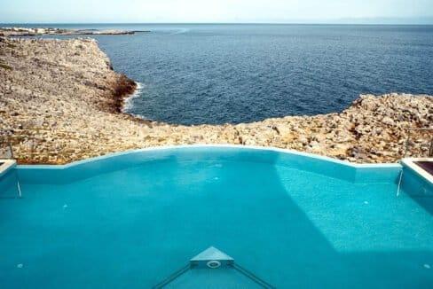 Seafront Villas in Crete near Chania Crete for sale, Waterfront Property Crete Greece, Seafront Houses Crete Greece 37