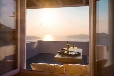 Two Caldera houses at Imerovigli Santorini with amazing sea view, Santorini Properties, Santorini Greece Real Estate. Properties in Santorini 10