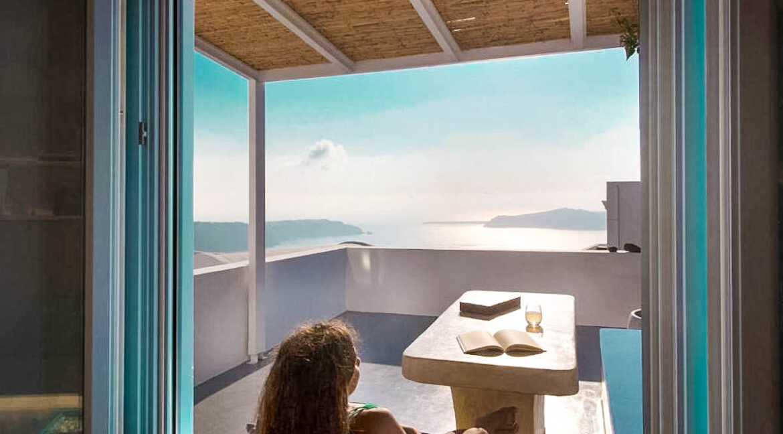 Two Caldera houses at Imerovigli Santorini with amazing sea view, Santorini Properties, Santorini Greece Real Estate. Properties in Santorini 11