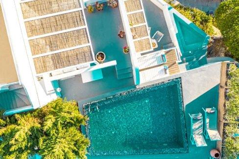 Two Caldera houses at Imerovigli Santorini with amazing sea view, Santorini Properties, Santorini Greece Real Estate. Properties in Santorini 14
