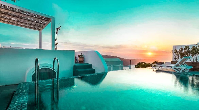 Two Caldera houses at Imerovigli Santorini with amazing sea view, Santorini Properties, Santorini Greece Real Estate. Properties in Santorini 18