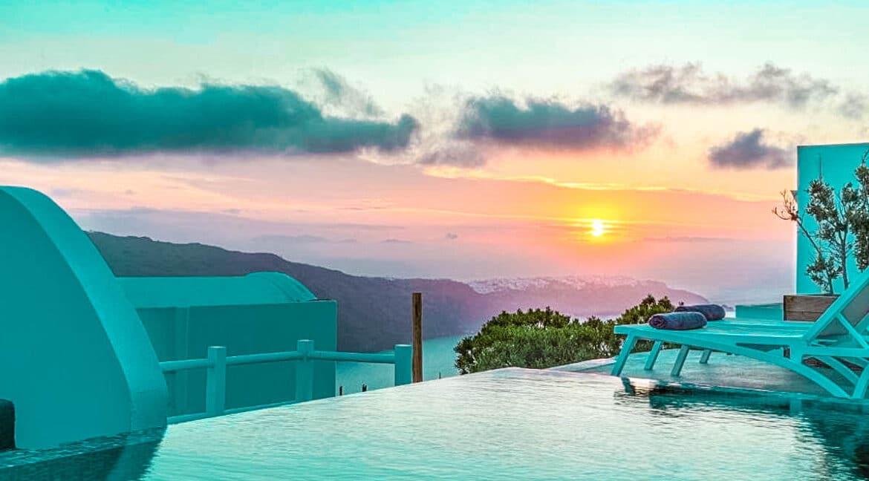 Two Caldera houses at Imerovigli Santorini with amazing sea view, Santorini Properties, Santorini Greece Real Estate. Properties in Santorini 19