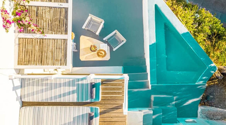 Two Caldera houses at Imerovigli Santorini with amazing sea view, Santorini Properties, Santorini Greece Real Estate. Properties in Santorini 20