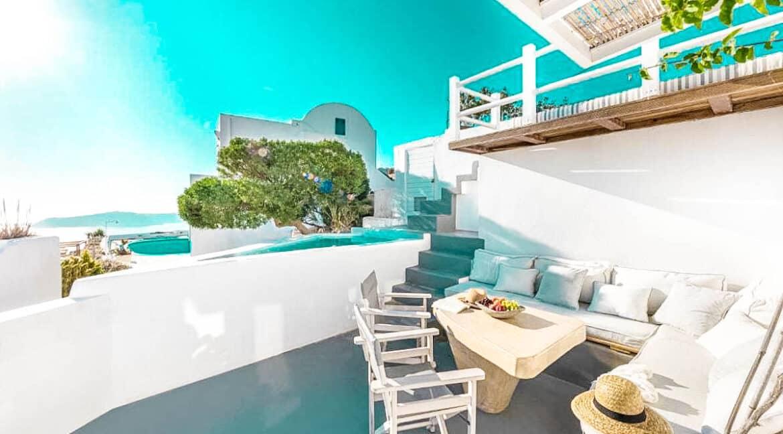 Two Caldera houses at Imerovigli Santorini with amazing sea view, Santorini Properties, Santorini Greece Real Estate. Properties in Santorini 22