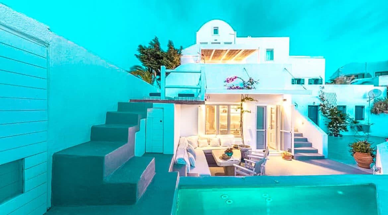 Two Caldera houses at Imerovigli Santorini with amazing sea view, Santorini Properties, Santorini Greece Real Estate. Properties in Santorini 24