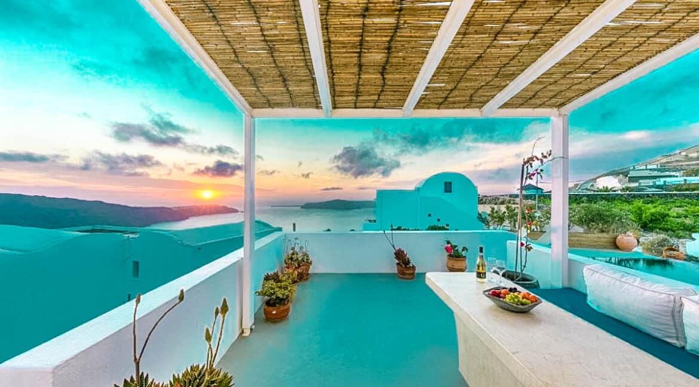 Two Caldera houses at Imerovigli Santorini with amazing sea view, Santorini Properties, Santorini Greece Real Estate. Properties in Santorini 25