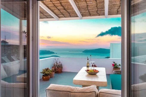 Two Caldera houses at Imerovigli Santorini with amazing sea view, Santorini Properties, Santorini Greece Real Estate. Properties in Santorini 26