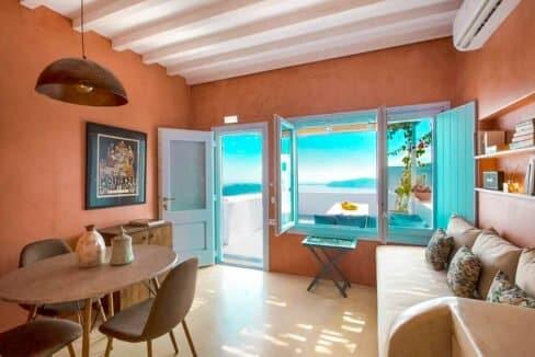 Two Caldera houses at Imerovigli Santorini with amazing sea view, Santorini Properties, Santorini Greece Real Estate. Properties in Santorini 6