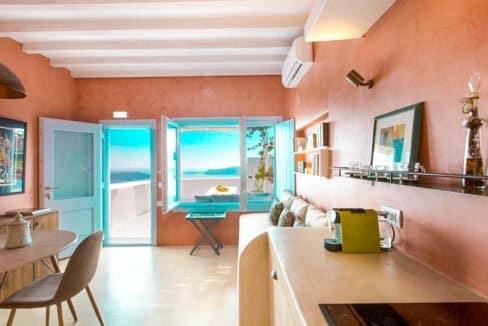 Two Caldera houses at Imerovigli Santorini with amazing sea view, Santorini Properties, Santorini Greece Real Estate. Properties in Santorini 7