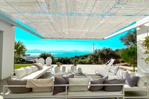 Villa with sea view and pool in Paros Island, Paros Homes for Sale, Paros Real Estate. Properties in Paros Greece 13
