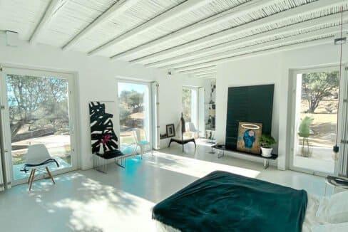 Villa with sea view and pool in Paros Island, Paros Homes for Sale, Paros Real Estate. Properties in Paros Greece 22
