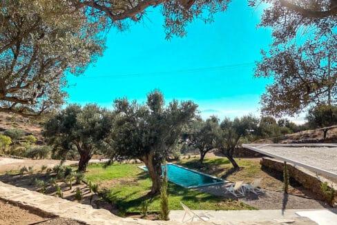 Villa with sea view and pool in Paros Island, Paros Homes for Sale, Paros Real Estate. Properties in Paros Greece 23