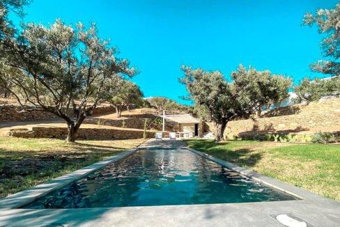 Villa with sea view and pool in Paros Island, Paros Homes for Sale, Paros Real Estate. Properties in Paros Greece 24